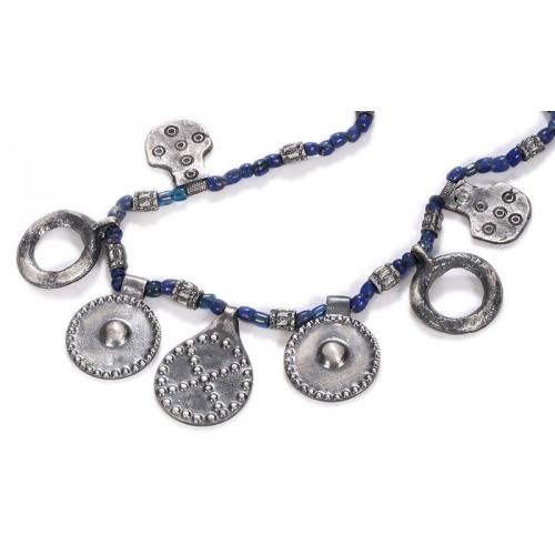 Urartian Blue Necklace