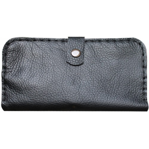 Leather Wallet for Her - Brown