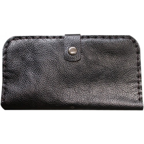 Leather Wallet for Her - Chocolate