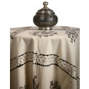 """Madder Table Cloth with """"Tokat"""" Pattern"""