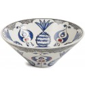 Ceramic Bowl with Pomegranate Patterns