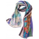Galata Tower Silk Scarf