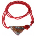 Muska Necklace - Red
