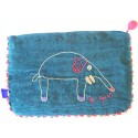 Blue Kutnu Purse - Efe