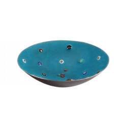 Evil Eye Enamel Pot - 2