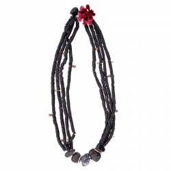 400.000 Years of Istanbul - Lava Stone Necklace