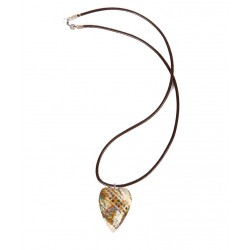 Meerschaum Necklace - Colored Heart