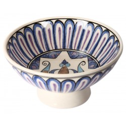 Seljuk Ceramic Bowl with Bird Patterns-2