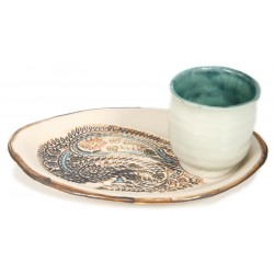 Porcelain Plate and Cup
