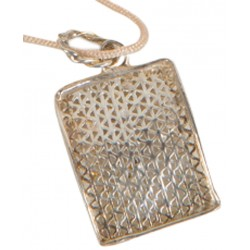 Filigree Rectangular Pendant