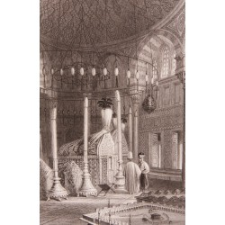 Süleyman the Magnificent's Tomb Engraving