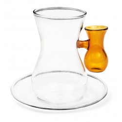 Tea Glass Yellow