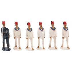 Ottoman Mariner Toy Soldier Set, With Winter Clothing