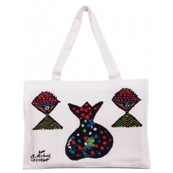 Bedri Rahmi Pomegranate Tote Bag