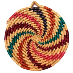 Basket Wall Decor - Small Spiral