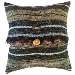 Rag Rug Pillow Case - 7