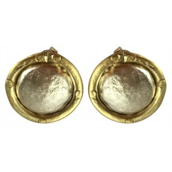 Silver Earrings - Circle