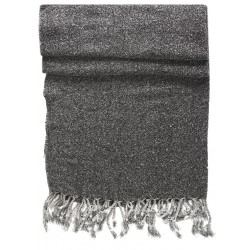 Dark Grey Kirmen Silk Wrap