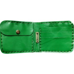 Leather Wallet - Green