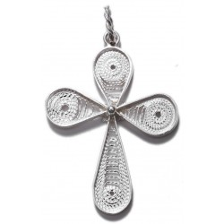 Filigree Cross Pendant - 2