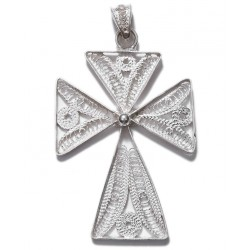 Filigree Cross Pendant  - 1