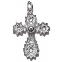 Filigree Cross Pendant - 4