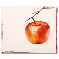 Forbidden Apple Oil on Canvas iPad Mini Case / Wallet