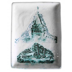 Galata Tower and İstanbul Ceramic Plate