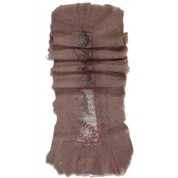 Felt Scarf- Mink Color