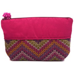 Fuchsia Cosmetic Bag
