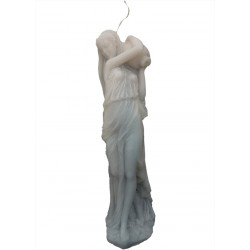 Roman Lady Sculpture Candle