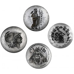 Coins Plate Set