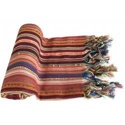 Pestemal / Turkish Hamam Towel - Colorful Red