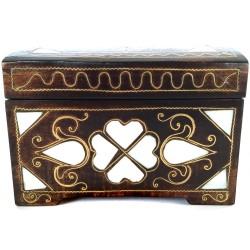 Mother of Pearl Inlayed Jewellery Box